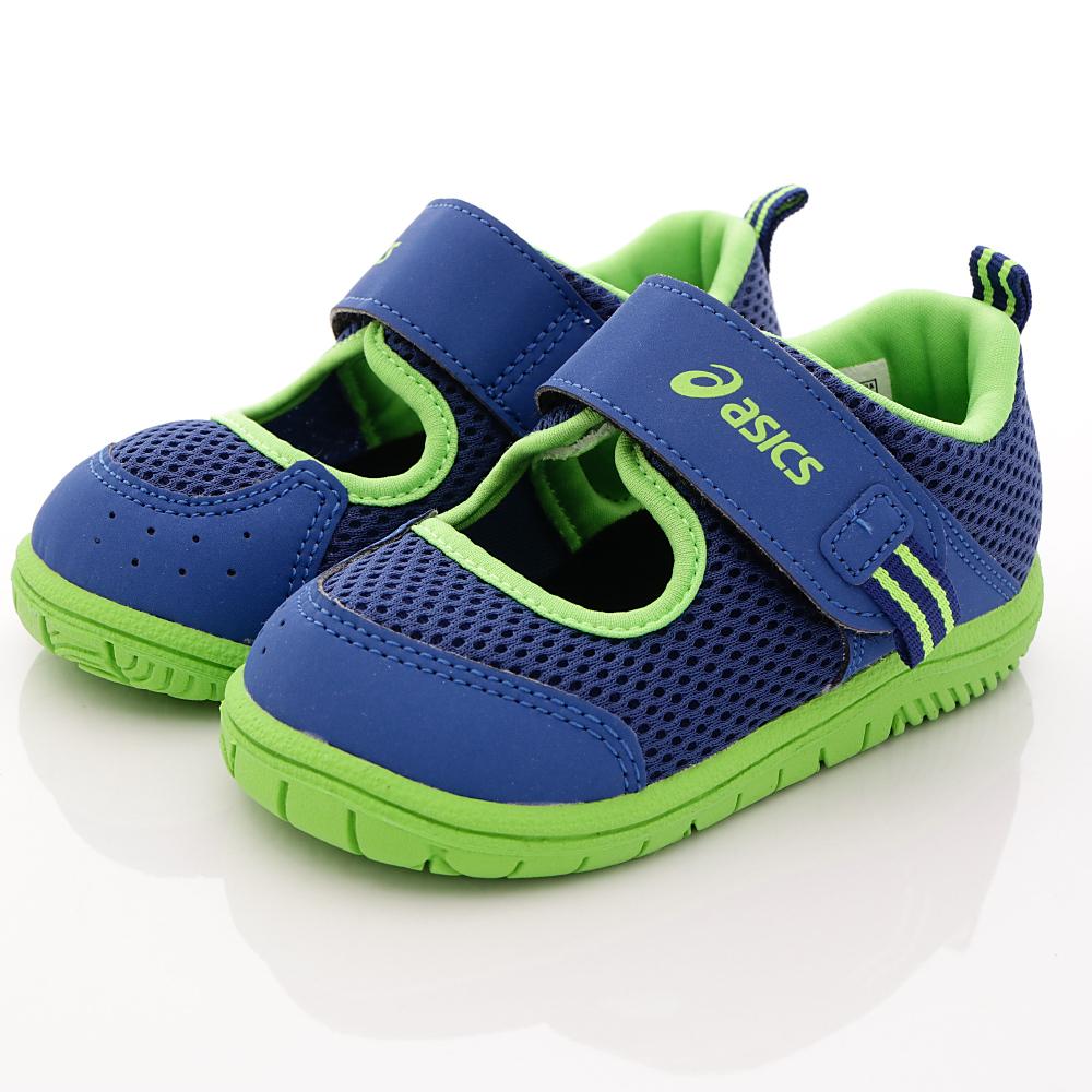 亞瑟士SUKU2機能鞋-速乾止滑款-ON18-49藍(中小童段)HN