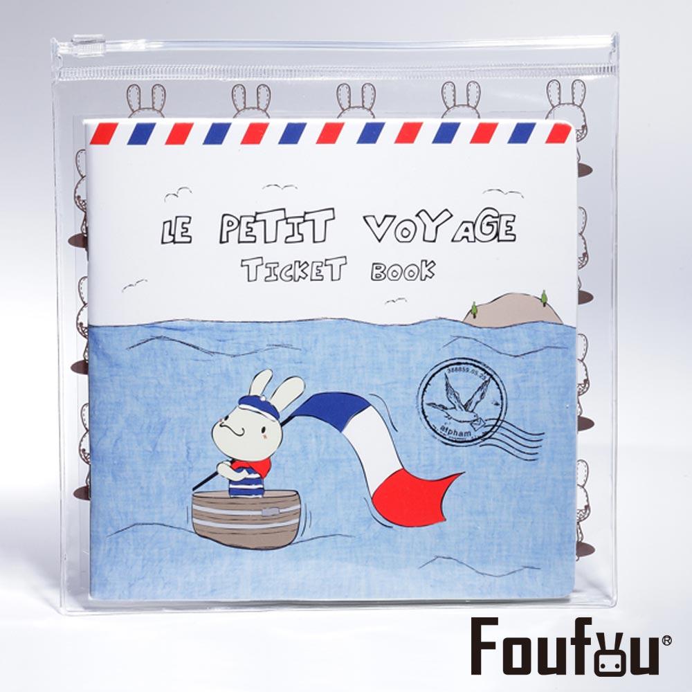 Foufou 票券記錄本四代(法國小水手)