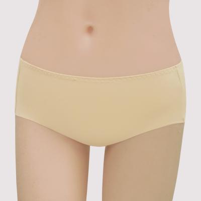 曼黛瑪璉-16SS紓壓好動-保氧  低腰寬邊三角無痕內褲(雅致膚)