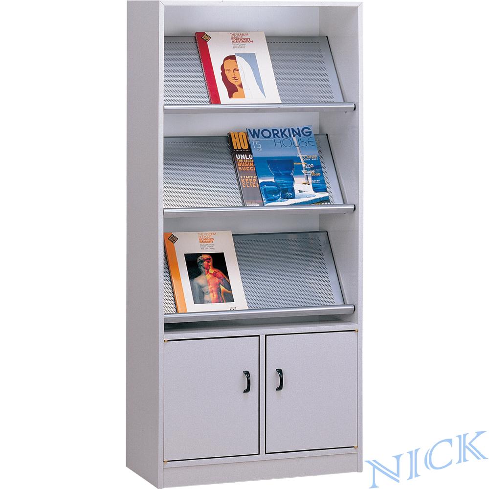 【NICK】大型置物箱塑鋼雜誌櫃