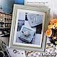 TROMSO 加州風潮灰藍木紋8X10相框 product thumbnail 1