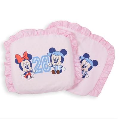 【麗嬰房】迪士尼 Disney 運動米奇乳膠圓枕(粉)