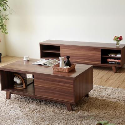 良木作 北歐馬克6尺電視櫃+4尺茶几桌