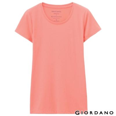GIORDANO-女裝好感百搭圓領短袖TEE-71