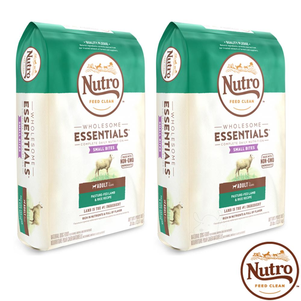 【Nutro 美士】全護營養 成犬(牧場小羊+健康米)5磅 X2包