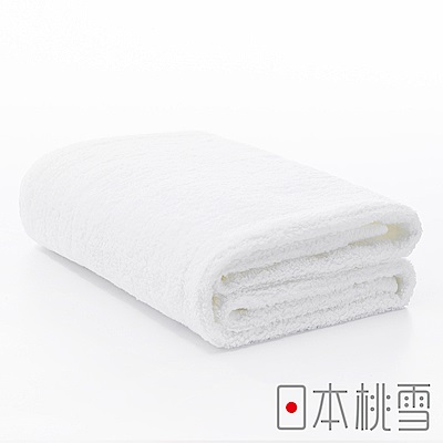 日本桃雪今治超長棉浴巾(白色)