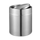 EKO 方迪桌面垃圾桶-1.5L (銀色)