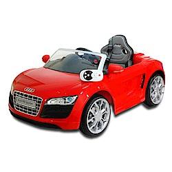 奧迪R8電動車高端版-紅色奧迪/AUDI/可遙控