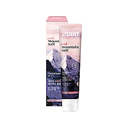 韓國2080 喜馬拉雅山玫瑰岩鹽牙膏120gX3入