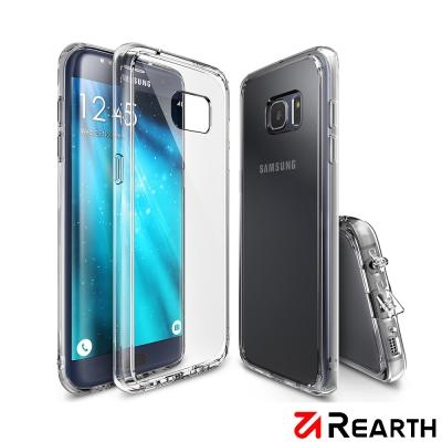 Rearth 三星 Galaxy S7 Edge Fusion 高質感保護殼(透...