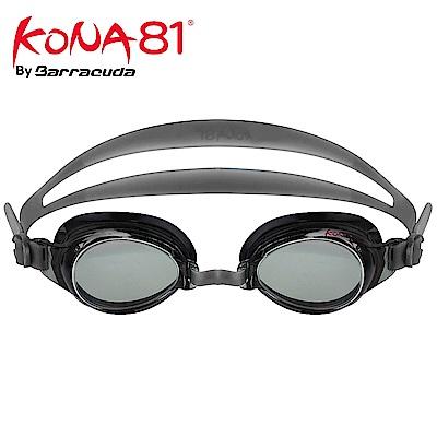 美國巴洛酷達Barracuda KONA81三鐵度數泳鏡K71395 銀