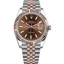 ROLEX 勞力士126331蠔式恆動系列Datejust腕錶-巧克力/41mm