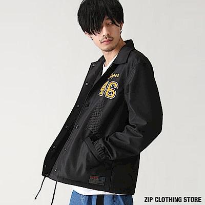 運動休閒教練夾克(3色) ZIP日本男裝