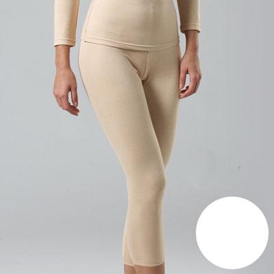 華歌爾-中空保暖M-LL長褲(珍珠白)