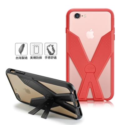 Thunder X 雷霆X iPhone7/6s 4.7吋 耐衝擊全包覆防摔殼-桃