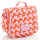 VOVAROVA空氣包-旅行盥洗包-千鳥飛飛(橘)-法國設計系列