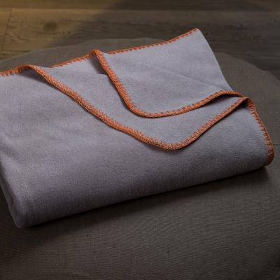 寬庭行旅-克雷爾-Seawool功能性環保旅行毯(麻灰色)-附收納袋