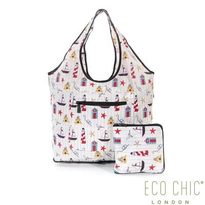 英國ECO CHIC旅行用休閒袋-海洋
