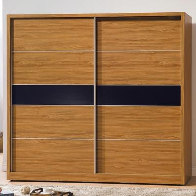 AS-拜倫7尺淺柚木衣櫃-212x60.5x197cm
