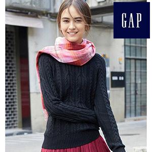 簡潔純色麻花紋針織衫