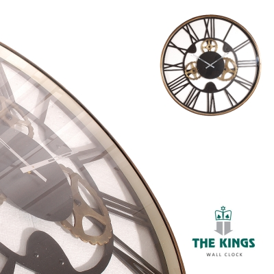 THE KINGS_Gear齒輪年代復古工業時鐘