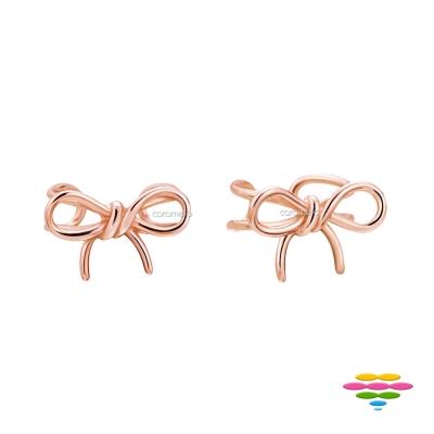 彩糖鑽工坊 桃樂絲 Doris系列 銀鍍玫瑰金 耳骨耳環耳夾
