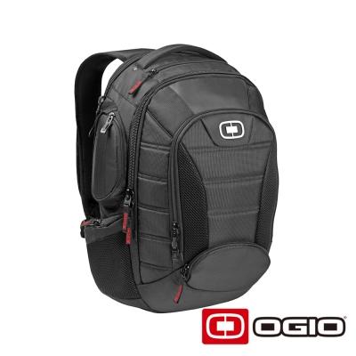 OGIO BANDIT II 17 吋甲蟲電腦後背包-黑色