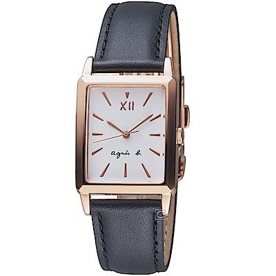 agnes b.生活哲學時尚腕錶(VJ21-KFY0Z BH8046X1)