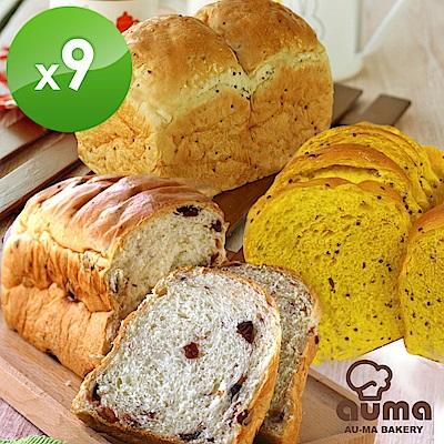 奧瑪烘焙健康ㄟ吐司X9入優惠組