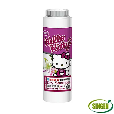 Haipet 發育寶-S Hello Kitty 犬貓乾洗粉 花香 200g X 1罐