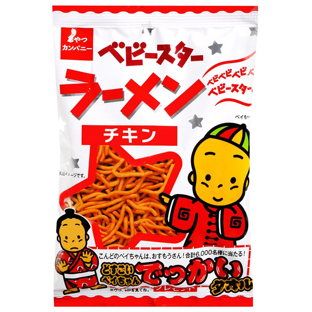 Oyatsu 寶貝之星點心麵-雞汁(39g)