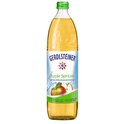 GEROLSTEINER 蘋果氣泡礦泉水(750mlx15入)