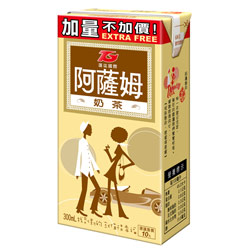 匯竑阿薩姆 原味奶茶300ml   (6入)