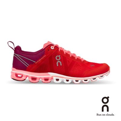 ON 瑞士雲端科技跑鞋-流星雲 女款 寶石紅
