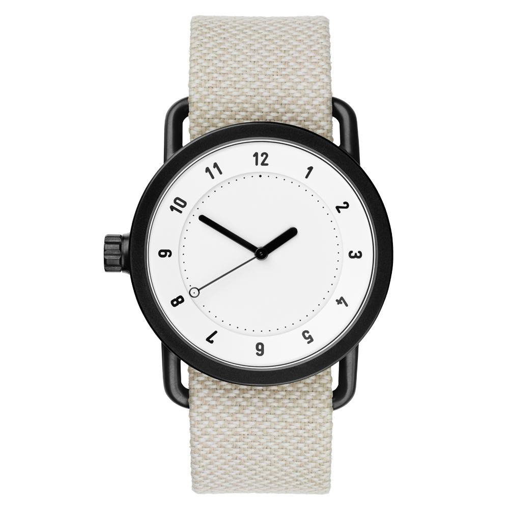 TID Watches No.1 White 白x淺灰/40mm