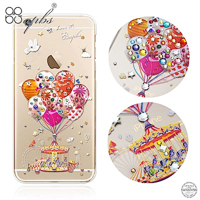 apbs iPhone6s/6 4.7吋 施華洛世奇彩鑽手機殼--夢想氣球