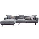 品家居 凡爾斯L型沙發(左右可選)-280x170x83cm-免組