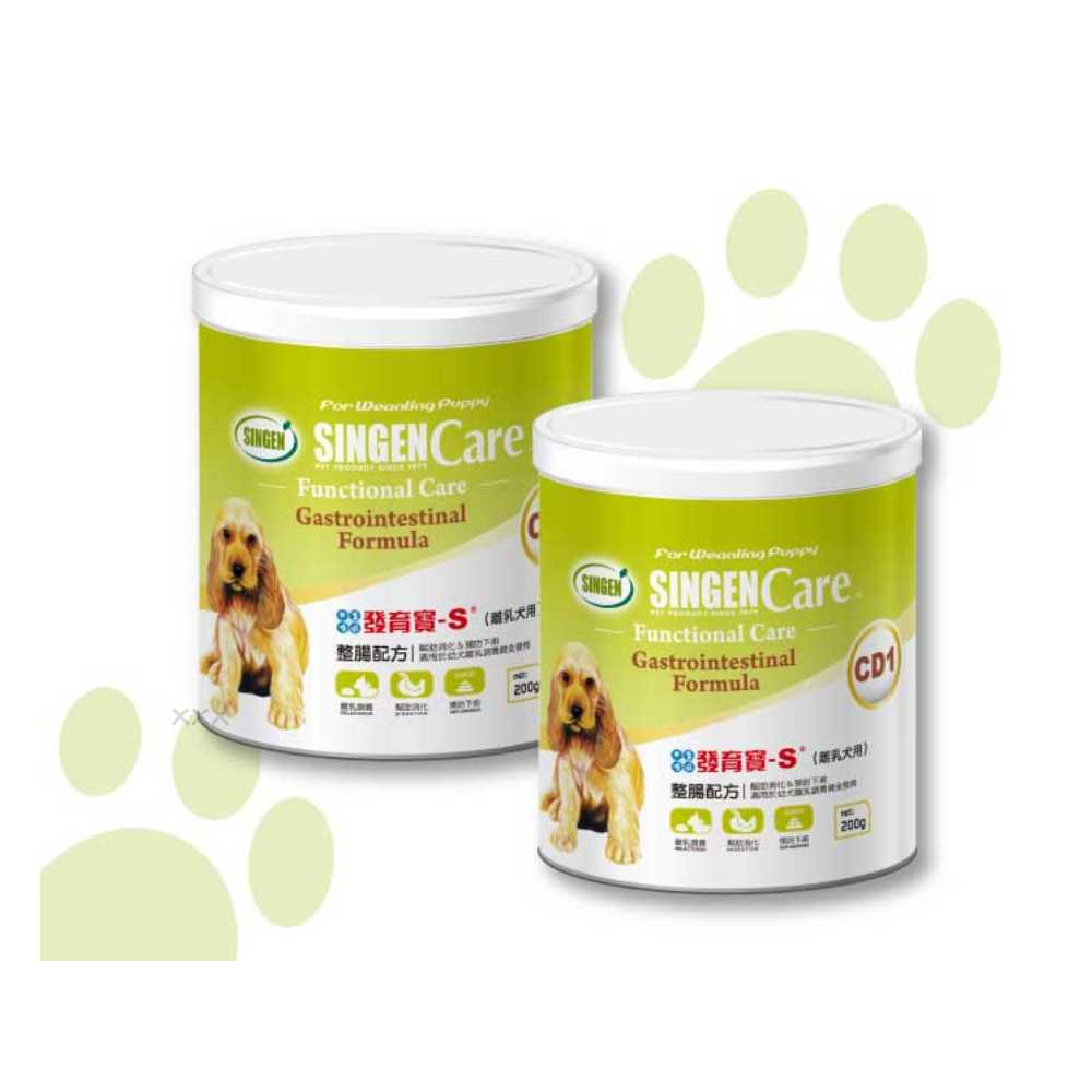 發育寶 Care系列-整腸配方CD1(離乳犬)200g 2入
