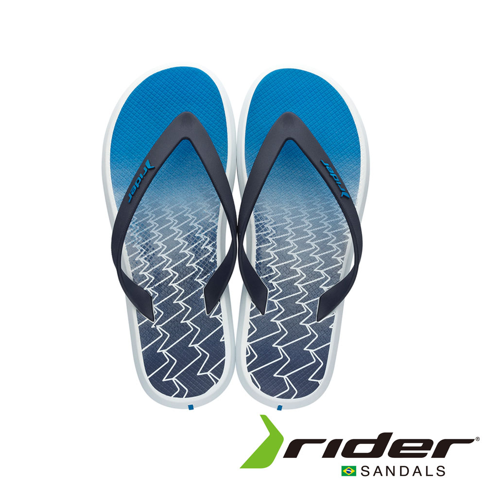 Rider 巴西 男 R1 INK AD 時尚機能夾腳拖 (海洋藍)