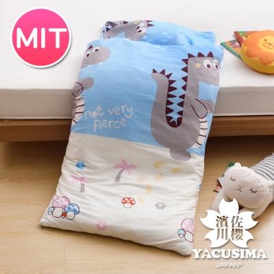 日本濱川佐櫻-恐龍冒險 純棉冬夏兩用兒童睡袋
