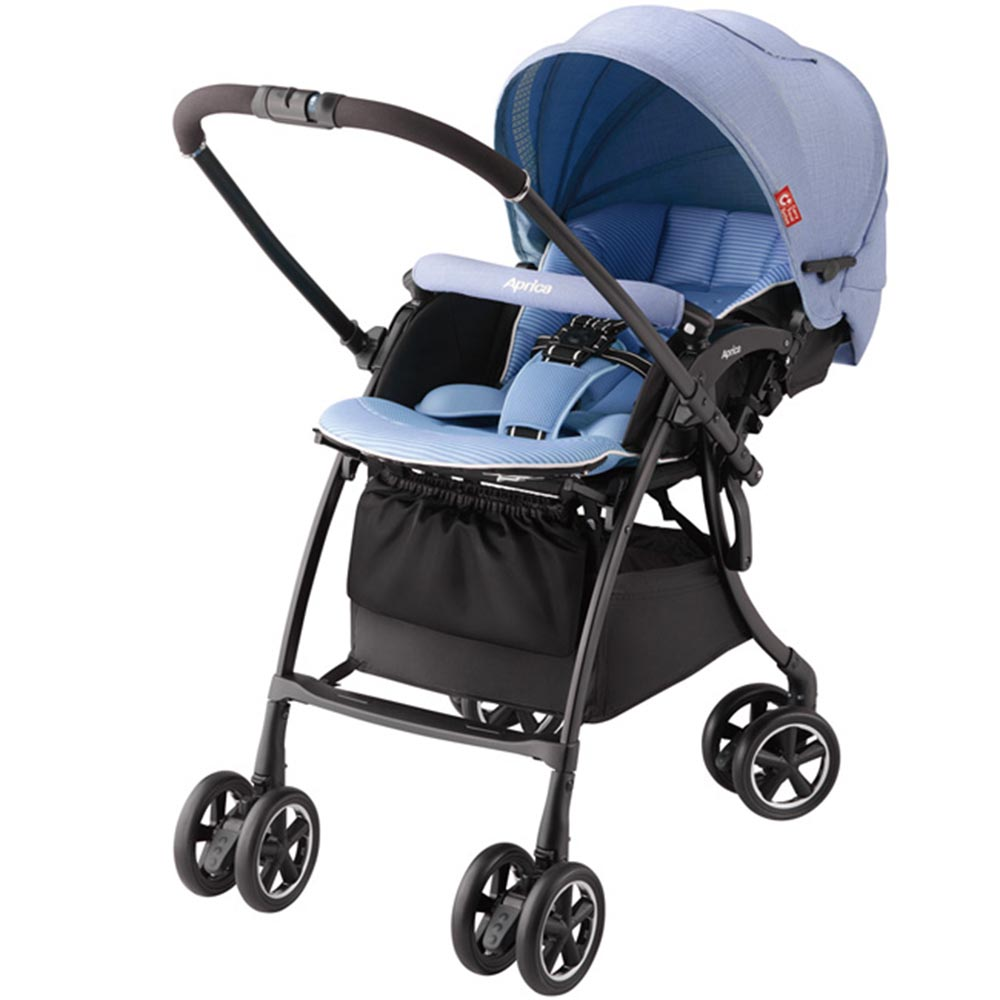 【Aprica】 Luxuna Comfort 自動定位導向型嬰幼兒手推車(共2色)
