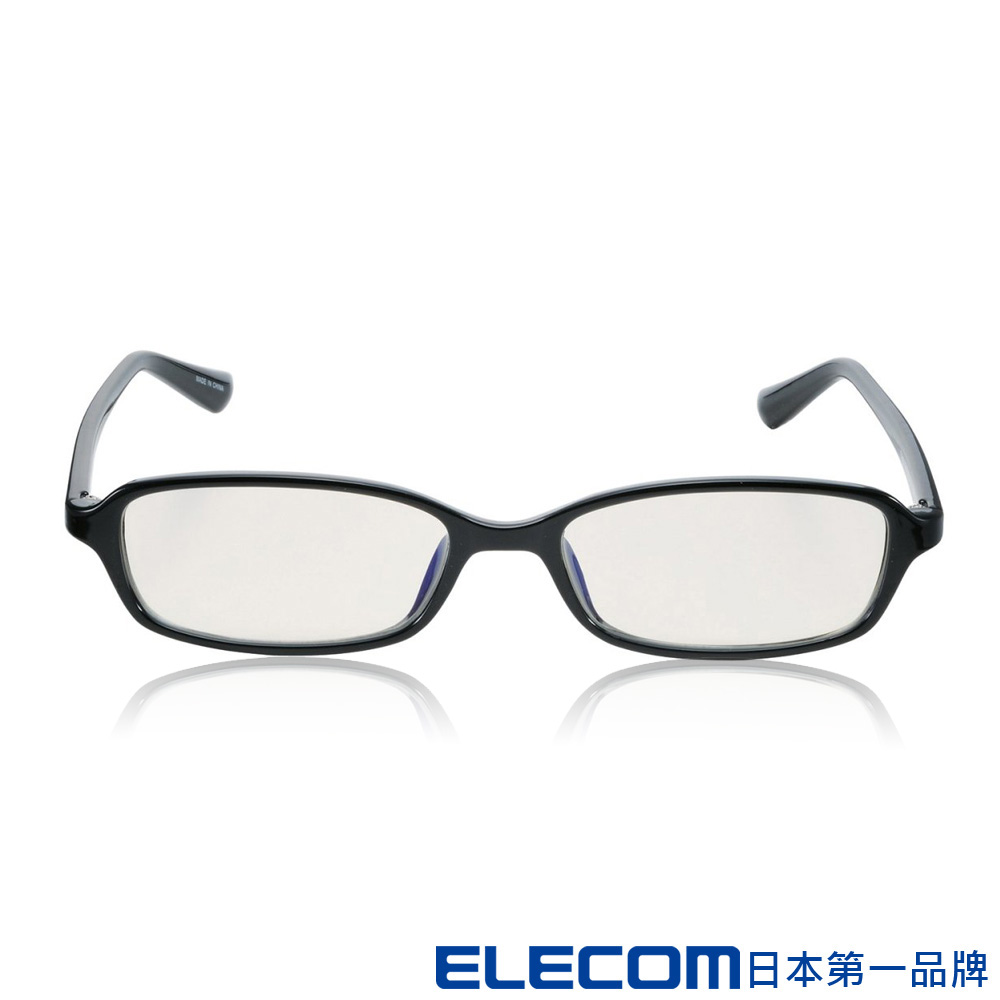 ELECOM 抗藍光眼鏡-OGABLC05 透明方框