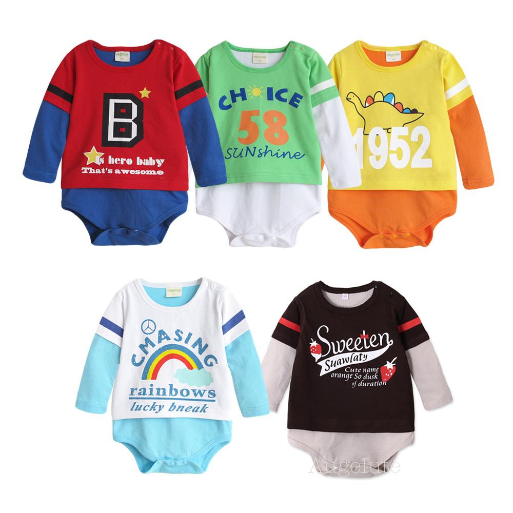 baby童衣 嬰兒純棉爬服長袖連身衣 35211