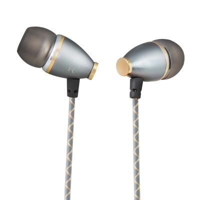 TCSTAR 有線入耳式耳機麥克風-灰 TCE5130CG