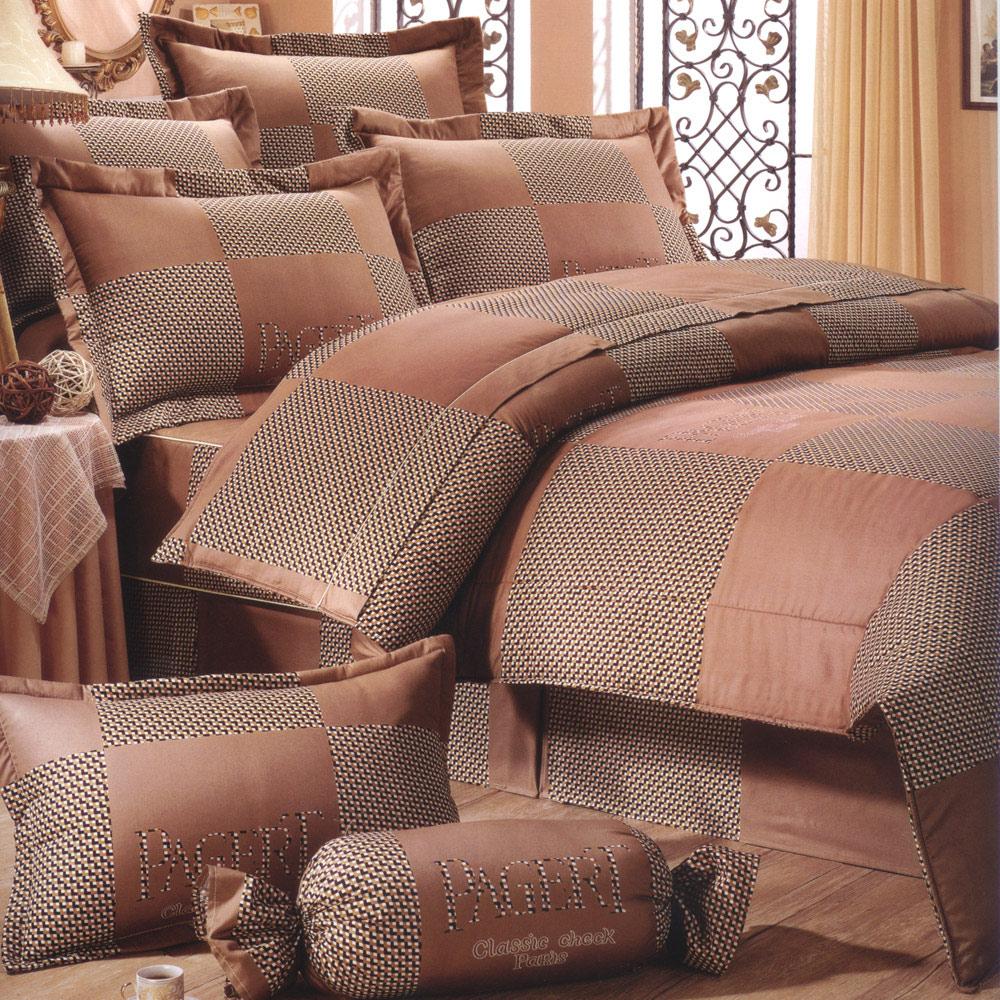 艾莉絲-貝倫 高貴典雅 100%純棉 單人薄被套床包三件組