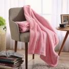 IN-HOUSE-法蘭羊羔絨童毯(粉色)