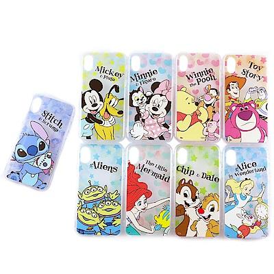 Disney迪士尼iPhone X防摔氣墊空壓保護套_星心