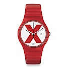 Swatch The X-Vibe XX-RATED RED 紅色X手錶