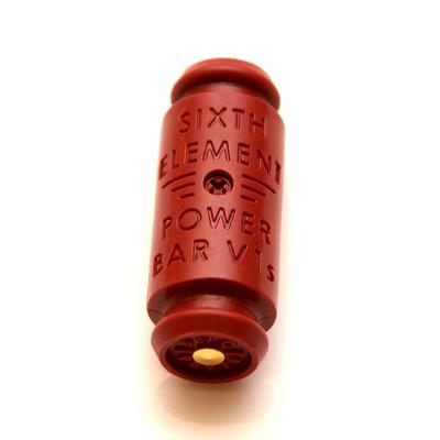 第六元素 電集棒紅色 V1s 超級版 (單品)