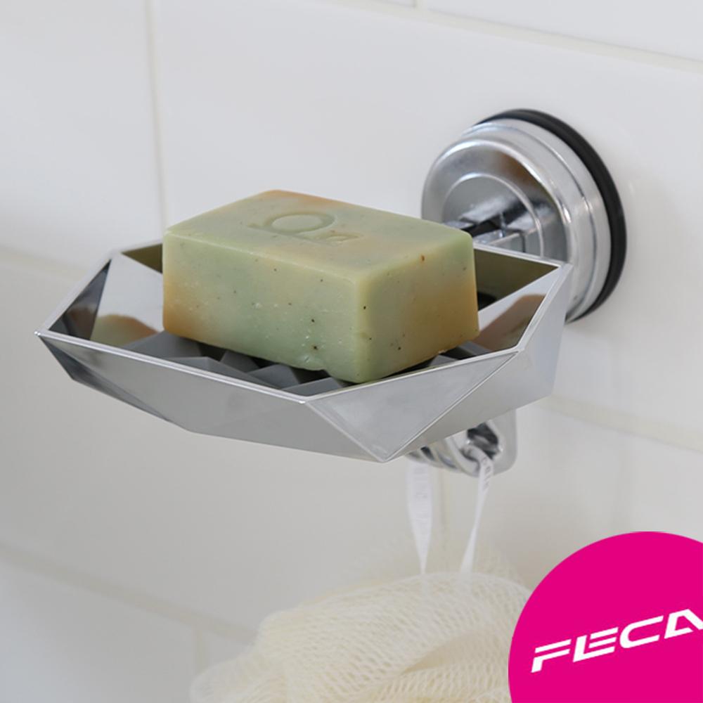 FECA非卡 芙洛拉肥皂盤(銀)